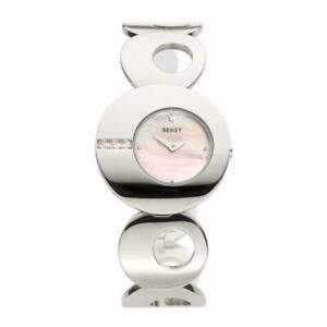 【送料無料】 腕時計 seksyステンレスブラック4773