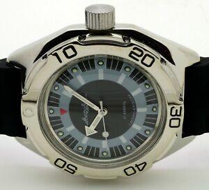 【送料無料】 腕時計 ロシアヴォストーク#ダイバーrussian vostok auto amphibian 670927 diver wrist watch brand
