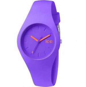 【送料無料】 腕時計 アイスパープルオレンジシリコンストラップice watch glam icecwpeus14 purpleorange silicone strap
