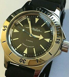 【送料無料】 腕時計 vostokamphibiaロシアダイバー200m120512 vostok amphibia automatic watch russian diver 200m 120512