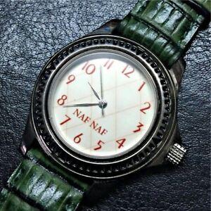 【送料無料】 腕時計 naf nafアナログヴィンテージgour naf naf analog watch woman shows vintage g