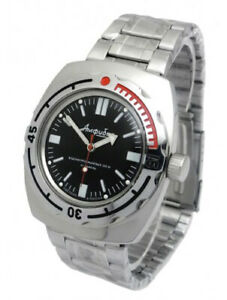 【送料無料】 腕時計 ロシアvostok20090916russian watch vostok amphibian military diving automatic 20 atm 090916