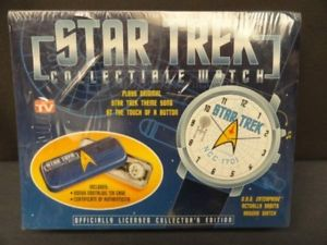 【送料無料】 腕時計 スタートレックブランドstar trek collectible watch brand sealed certificate of authenticity