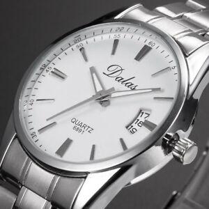 【送料無料】 腕時計 マンブレスレットファッションプロモーションウォッチwatch luxury man bracelet metal date fashion watch promo