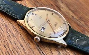【送料無料】 腕時計 vintage bilat automatic eta 2472gold plated g20 datewatch running 1970vintage bilat automatic eta 2472 gold plated g20 dat