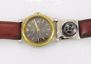 【送料無料】 腕時計 コンパスジュールズジャーゲンセン7282mens jules jurgensen 7282 wrist watch with compass