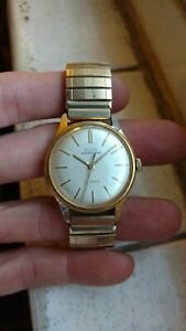 【送料無料】 腕時計 エルギンスポーツマン17menselgin sportsman 17 jewels mens wristwatch gold plated
