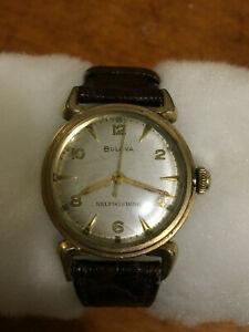 【送料無料】 腕時計 ヴィンテージクリッパーvintage 1952 l2 bulova clipper selfwinding cal 10cmc watch working
