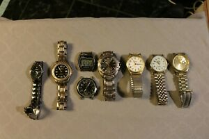 【送料無料】 腕時計 lot of 7wrist watches various brands all runningl766lot of 7  wrist watches various brands all running l766