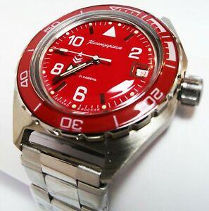 【送料無料】 腕時計 vostok komandirskie automatic russian military wrist watch650841vostok komandirskie automatic russian military wrist watch