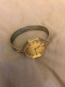 【送料無料】 腕時計 vintage old estate ermex 17jewels ladies bracelet wristwatch jewlery womensvintage old estate ermex 17 jewels ladies brace