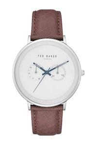 【送料無料】 腕時計 ted baker te50657004クオーツ145ted baker te50657004 mens classic watch quartz mineral crystal leather 145