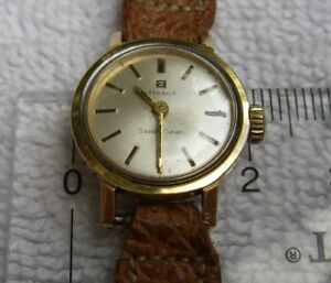 【送料無料】 腕時計 ヴィンテージtissotヒトデ717jvintage ladies tissot seastar seven17j manualheavy gold filledruns well