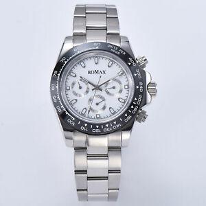 【送料無料】 腕時計 サファイアケースs08watch automatic sapphire crystal ceramic bezel steel bracelet silver case s08