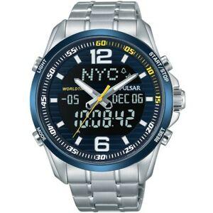 【送料無料】 腕時計 パルサートイレクロノグラフ pz4003x1 pnppulsar gents chronograph world time watch pz4003x1 pnp