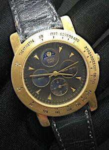 【送料無料】 腕時計 ムーンヴィンテージremex moon vintage watch working quartz 39 mm lunar moon