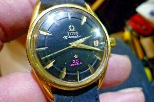 【送料無料】 腕時計 メンズmens 34mm titus titomatic 25j automatic as1701