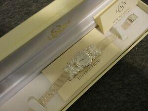 【送料無料】 腕時計 boxnever wornnos lenox sterling 925crystal butterfly watch  batterynos lenox sterling 925 crystal butterfly watch in box