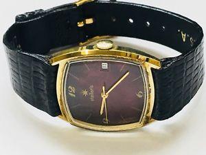 【送料無料】 腕時計 ヴィンテージstellarisクオーツgoldtone4207スイスvintage stellaris mens quartz wrist watch goldtone very elegant swiss made4207
