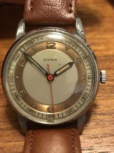 【送料無料】 腕時計 ビンテージメンズvintage cyma mens wristwatch