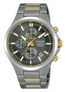 【送料無料】 腕時計 パルサークロノグラフmensチタンpm3113x1pnppulsar chronograph mens wrist watch titanium pm3113x1pnp