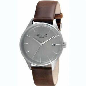 【送料無料】 腕時計 ケネスコールブラウンレザーストラップウォッチkenneth cole watch kc1025 brown leather strap watch