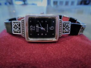 【送料無料】 腕時計 925スターリングecclissi 33160ブラック