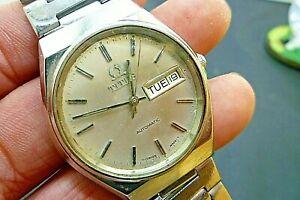 【送料無料】 腕時計 メンズタイタススイスヴィンテージウォッチmens 36mm titus 17j automatic eta 2879 ss 8 12 wrist swiss vintage watch