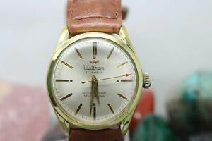 【送料無料】 腕時計 ヴィンテージウォルサム17jvintage waltham 17j self winding gold tone mens wrist watch running