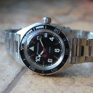 【送料無料】 腕時計 ロシアヴォストークrussian watch automatic vostok komandirskie diver 20 atm