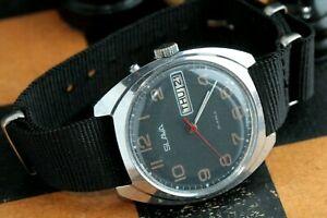 【送料無料】 腕時計 ussrヴィンテージソオリジナル26サービスslavarare watch slava automatic ussr vintage soviet original 26 jewels serviced