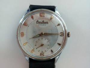 【送料無料】 腕時計 ビンテージスイスvintage omikron bidermayer 21 rubis,as 1130 wristwatch swiss made