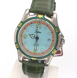 【送料無料】 腕時計 ヴィンテージウォッチnos justina cal 2115 vintage watch quartz date 37mm quartz watch mag2