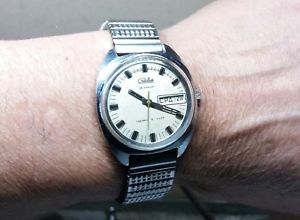 【送料無料】 腕時計 ビンテージブレスレットストラップステンレススチールソrare vintage bracelet strap wristwatch stainless steel to watch raketa 3031 ussr