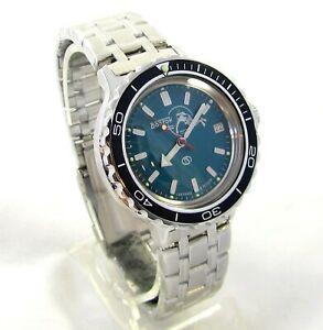 【送料無料】 腕時計 ヴォストークスチールカスタムベゼルダイバーメンズvostok 42005922 wostok amphibia steel custom bezel diver mens wrist watch