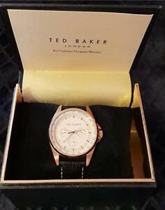【送料無料】 腕時計 テッドベーカーメンズローズゴールドブランド