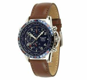 【送料無料】 腕時計 シリーズメンズクロノグラフスイスaviator fseries avw78420g388 mens chronograph watch gents swiss wristwatch uk