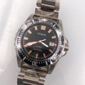 【送料無料】 腕時計 43mmパーニスサファイアmiyota 2120 atm43mm parnis sapphire miyota 21 jewels automatic men watch 20 atm water resistant
