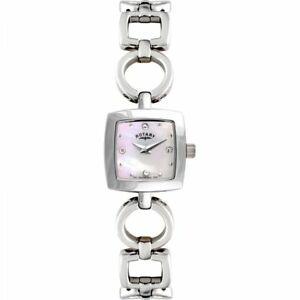 【送料無料】 腕時計 レディースロータリーポンドウォッチladies rotary watch lb0263907 rrp 139