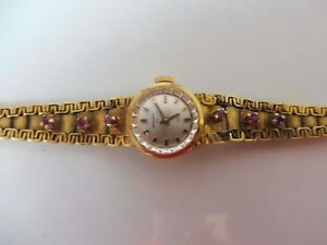 【送料無料】 腕時計 アンカーbeautiful, old wrist watch __ 835 silver gilt _ with stones __ anchor __ manual winding ___