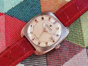 【送料無料】 腕時計 オートヴィンテージjunghans automatic vintage watch cleaned and oiled cal 653