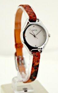 【送料無料】 腕時計 パリファッションレディースレディーopex paris red croco watch orologio leather steel fashion womens lady