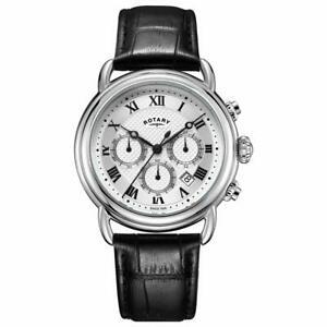 【送料無料】 腕時計 ロータリーカンタベリーメンズクロノグラフウォッチrotary canterbury mens chronograph watch gs0533021