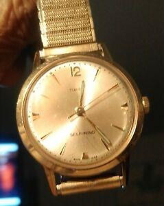 【送料無料】 腕時計 ヴィンテージtimexvintage timex self wind watch
