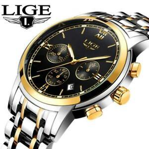 【送料無料】 腕時計 ligeブランドスポーツクオーツma lige wristwatches men luxury brand fashion mens sports quartz wristwatch ma