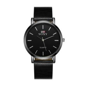 【送料無料】 腕時計 ウォッチfashioniable leather simple soxy watch for women