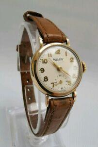 【送料無料】 腕時計 ブドウ1956アールデコ9ct 9k810calvintage 1956 rotary art deco 9ct 9k solid gold ladies wrist watch 810 cal