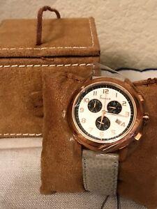 【送料無料】 腕時計 freelookローズchronographfreelook rose gold chronograph watch