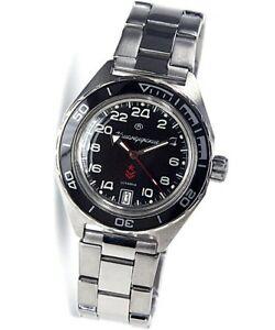 【送料無料】 腕時計 ロシア24vostok komandirskieステンレスo41mmrussian automatic 24hr wrist watch vostok komandirskie stainless steel 41mm