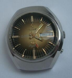 【送料無料】 腕時計 スイスtressaラックス27ウォッチmens21ta206000ntressa lux crystal 27 swiss automatic watch mens day date 21 jewels ta206000n